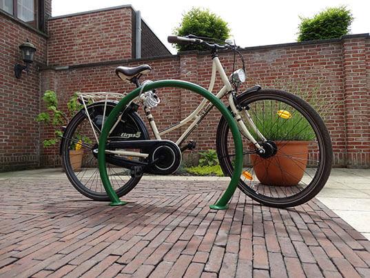 Kołowy stojak rowerowy