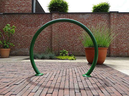 Stojak rowerowy koło