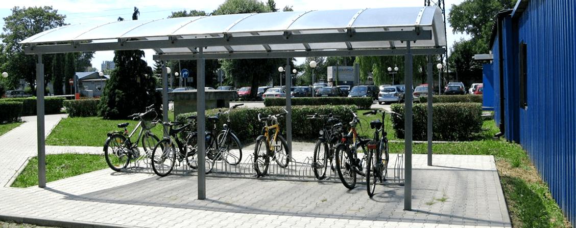 wiaty rowerowe zadaszenie producent