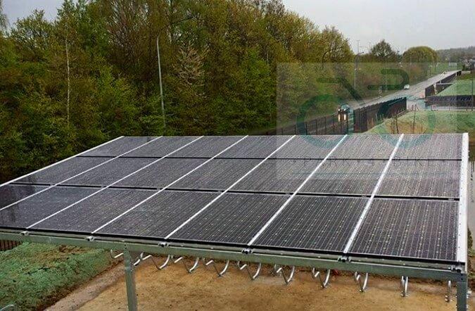 solarny dach wiata rowerowa