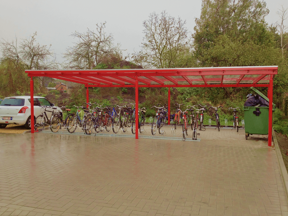 Wiaty rowerowe