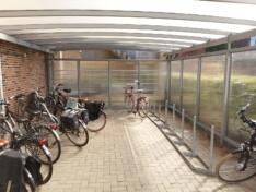 Wiata rowerowa R01